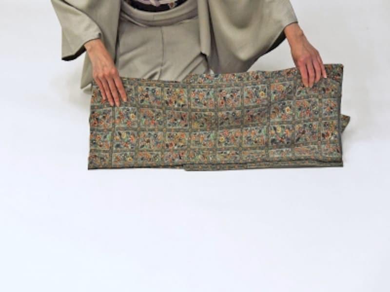 着物・浴衣の畳み方14