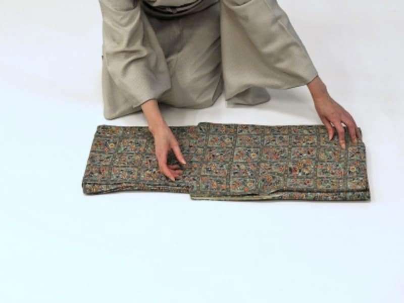 着物・浴衣の畳み方15