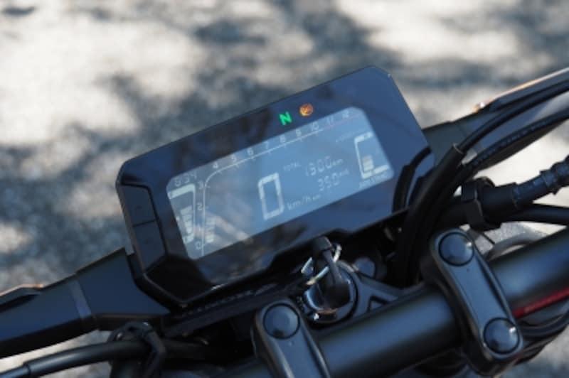 CB250Rのメーターは視認性が良いがシフトポジションインジケーターが欲しかった!