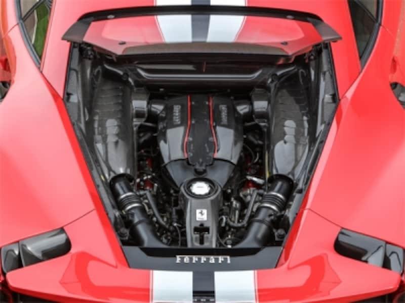 フェラーリ488ピスタ