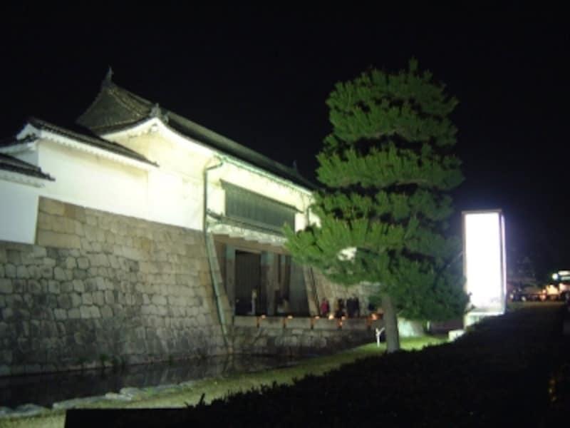 二条城(11)/ライトアップ
