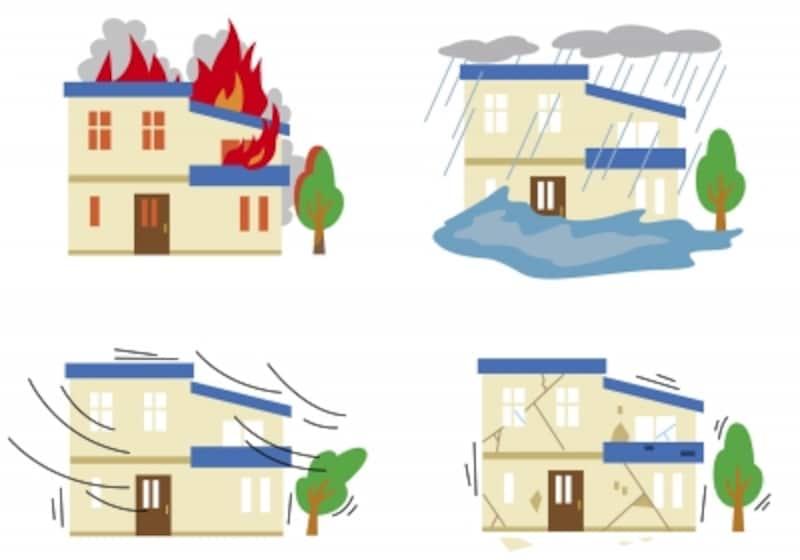 自然災害で住居が損害を被ると大変!