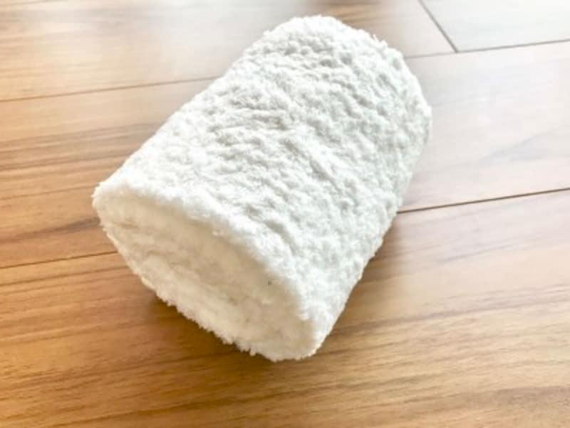 タオルのたたみ方・手順3:完成