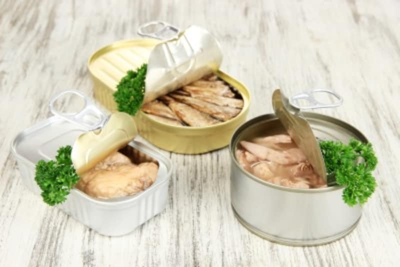 一人暮らし向けおすすめプレゼント:レトルト食品・缶詰
