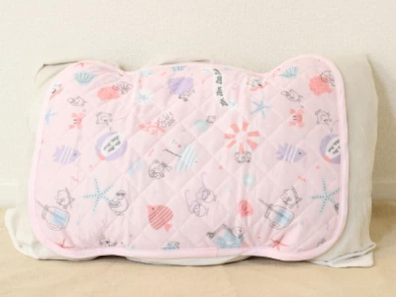 暑さ対策エコグッズ6:冷感素材の枕パッド