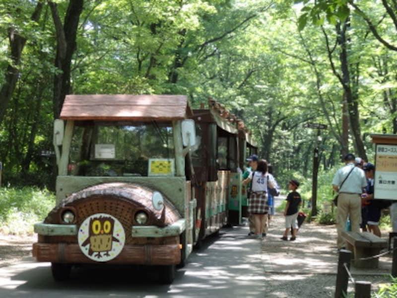 主要8スポットを繋ぐ園内バス