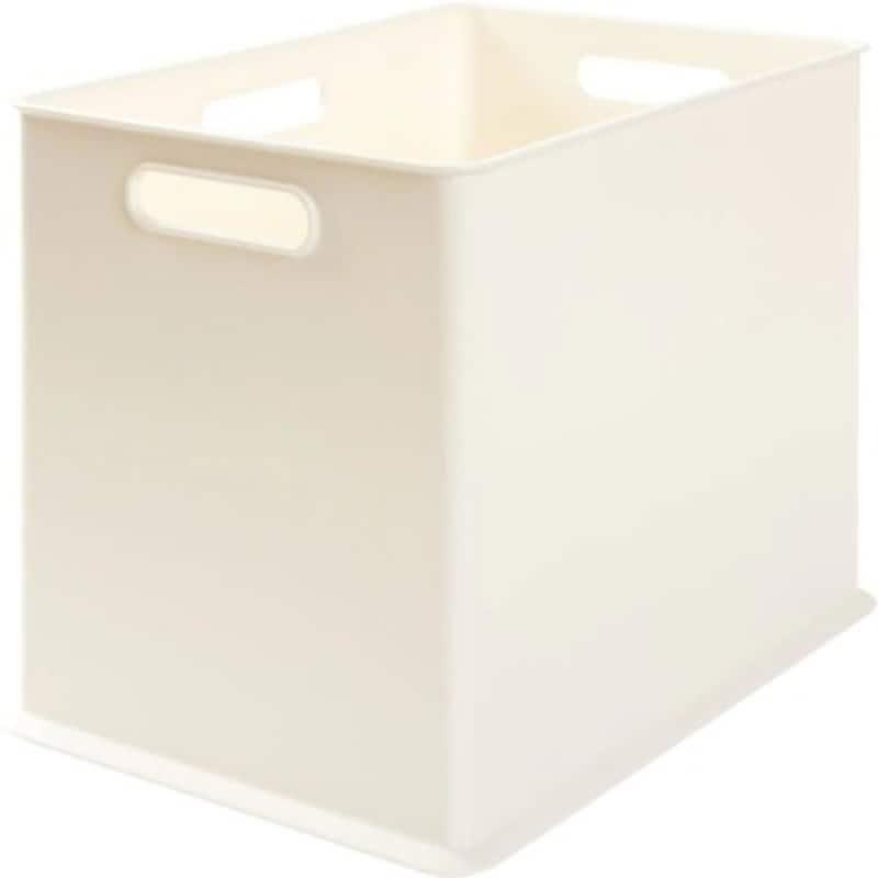 ニトリのインボックス。パントリーの中を白で統一するのにぴったり(画像はニトリ公式通販・ニトリネットより)