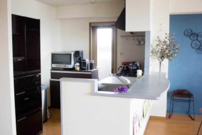 キッチンさえ片付いていれば心に余裕ができます