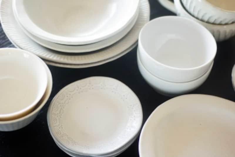 白い食器は汎用性が高く、使いやすいです