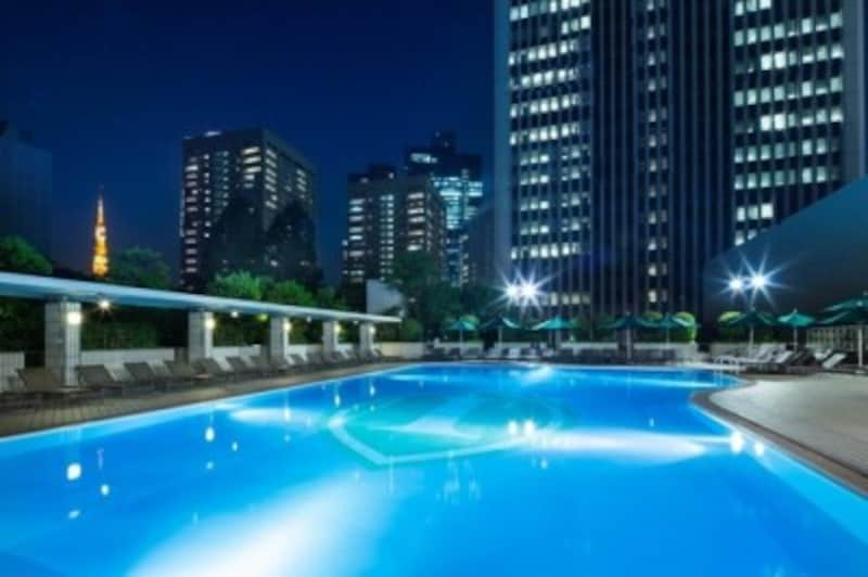 東京 ナイトプール おすすめ 人気 ANAインターコンチネンタルホテル東京