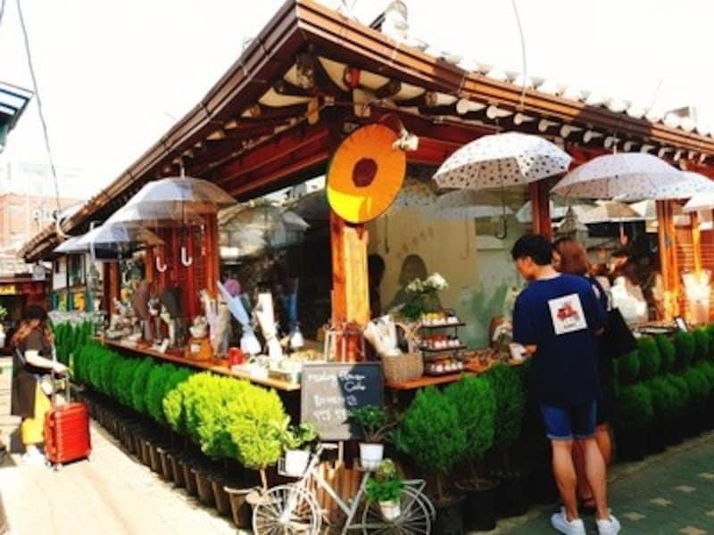 マダンフラワーカフェ