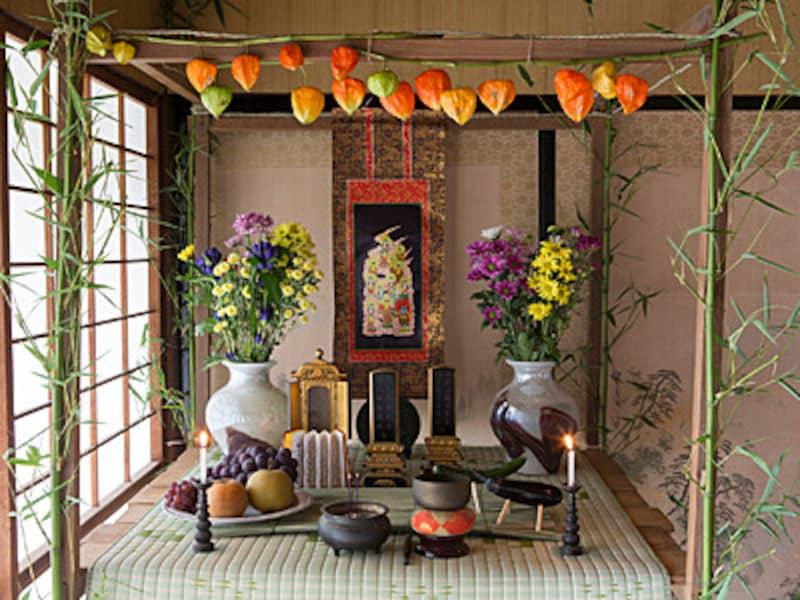 盆棚・精霊棚の作り方・飾り方・意味を解説