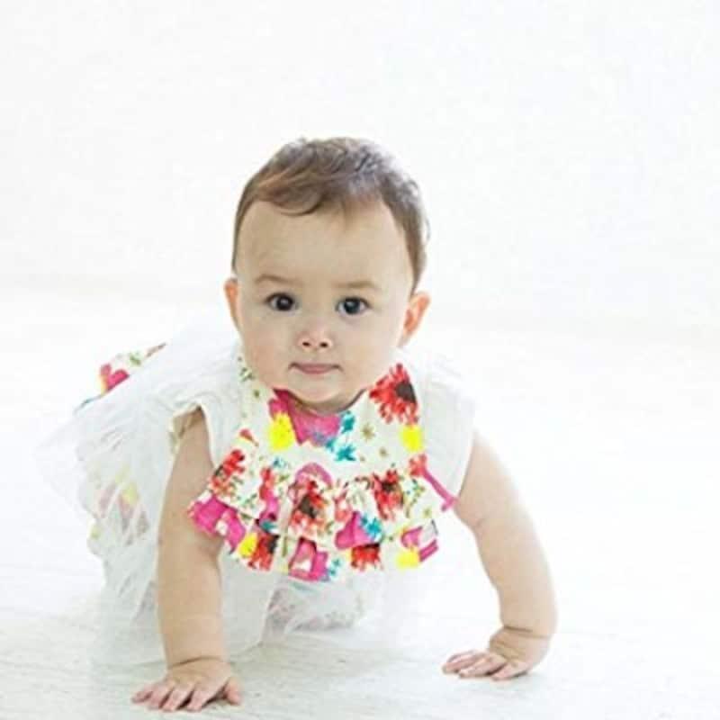 出産祝い名入れグッズランキング第6位、オーガニックベビー服2点セット(HaruulalaJapan)