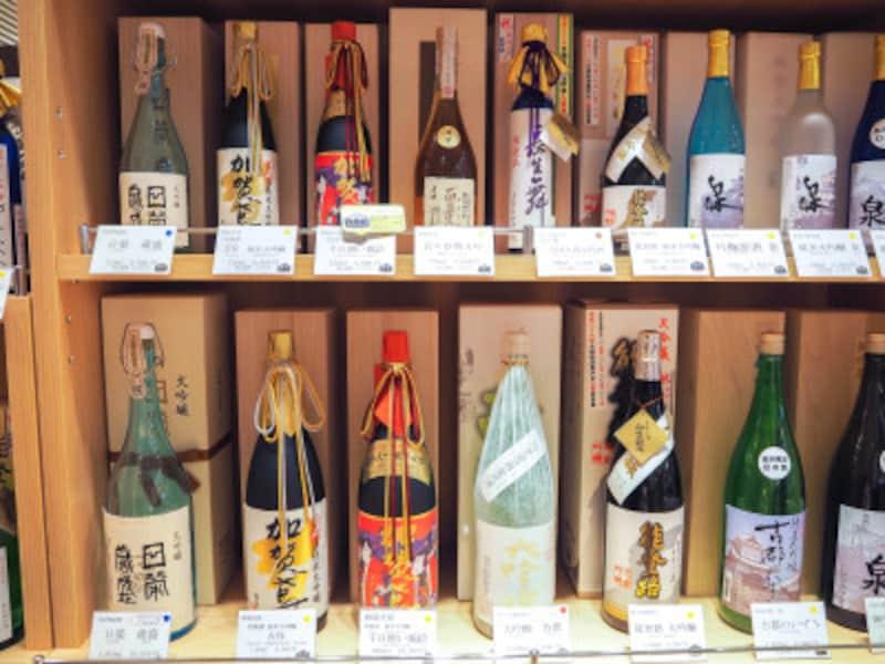 地酒@金沢地酒蔵