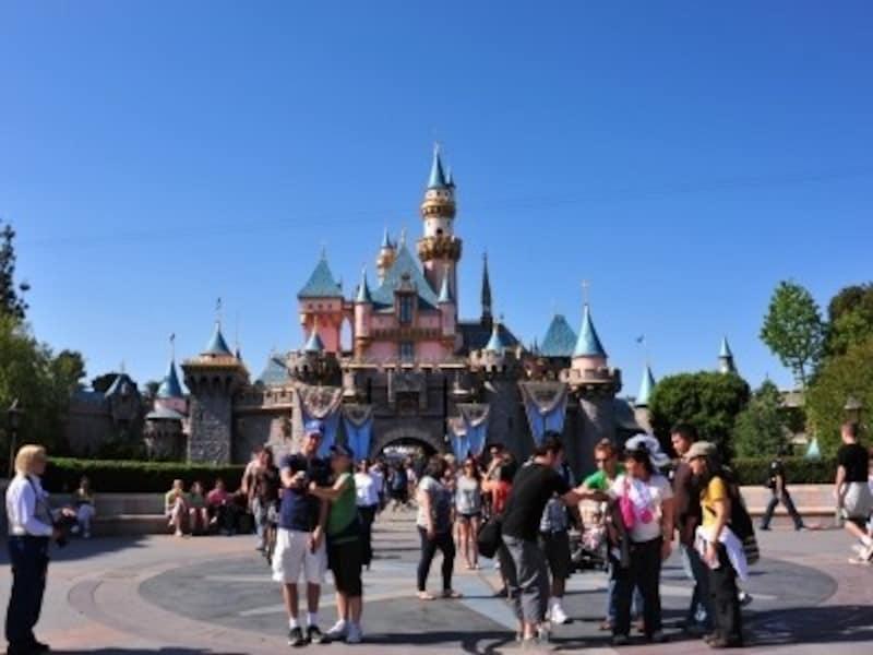 カリフォルニア ディズニーランド・パーク 眠れる森の美女のお城