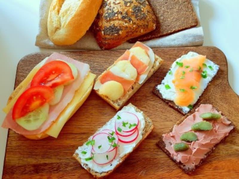 ドイツパンの食べ方