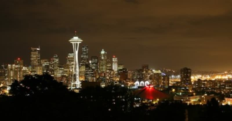 シアトル 観光 夜景