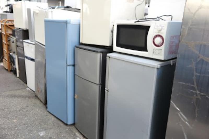 冷蔵庫の処分を自分で持ち込むと運搬費用がかからない