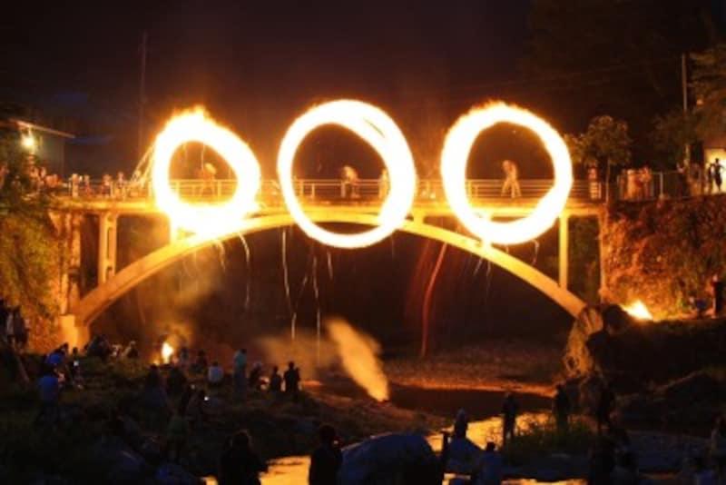 南牧村火とぼし