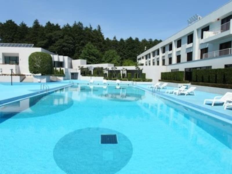ラディソン成田の屋外プール