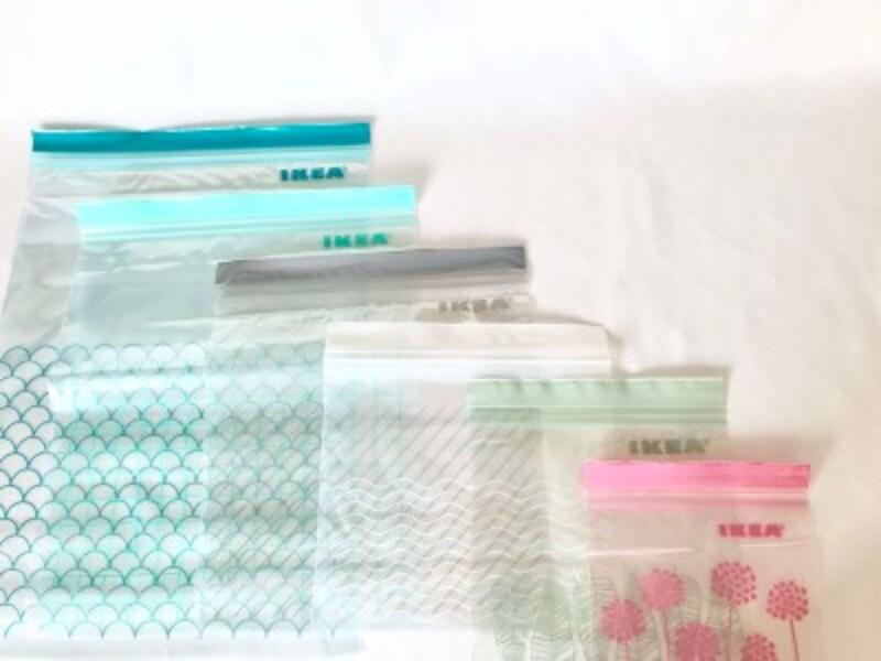 色・柄・サイズも豊富なIKEAのプラスチック袋:ISTAD(イースタード)