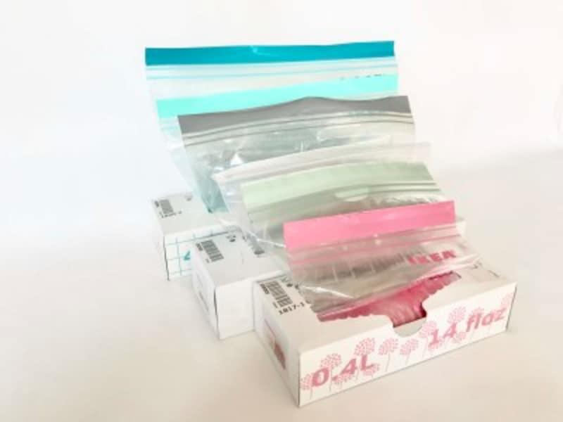 IKEAの大人気のジッパー付きプラスチック袋:ISTAD