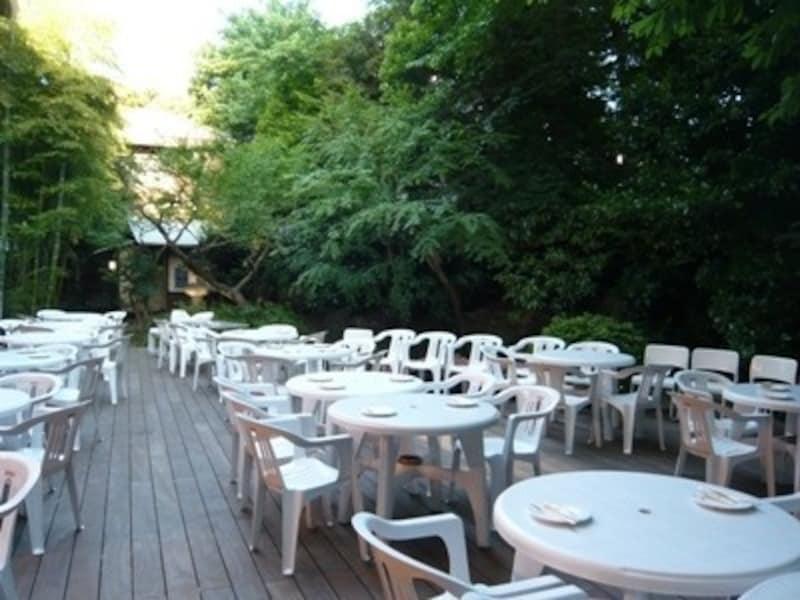 東京さぬき倶楽部 屋外ビア庭園
