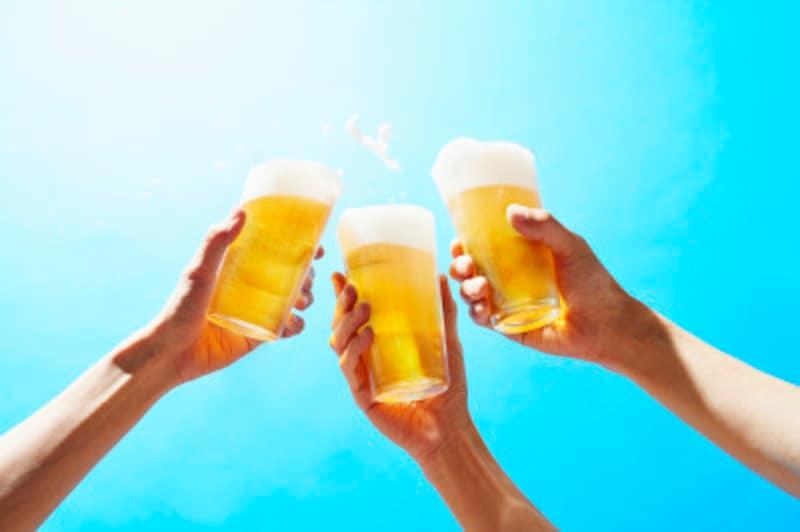 仲間との集まりにビールとBBQ!