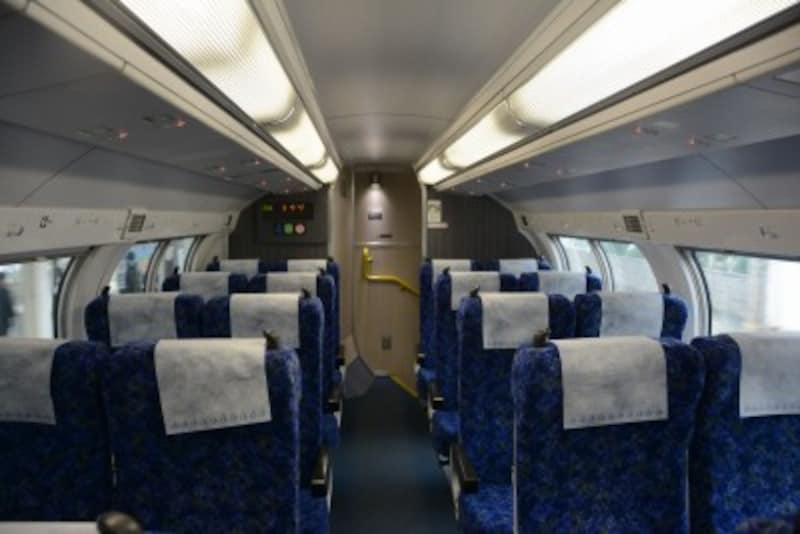 普通列車グリーン車2階