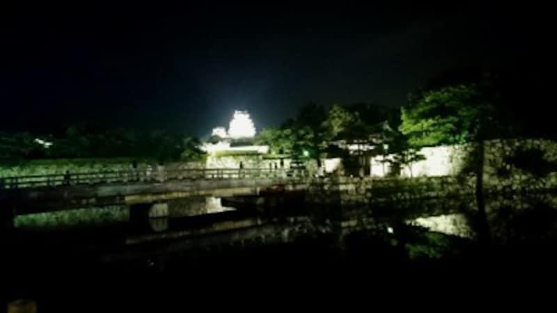 姫路城(26)/ライトアップ