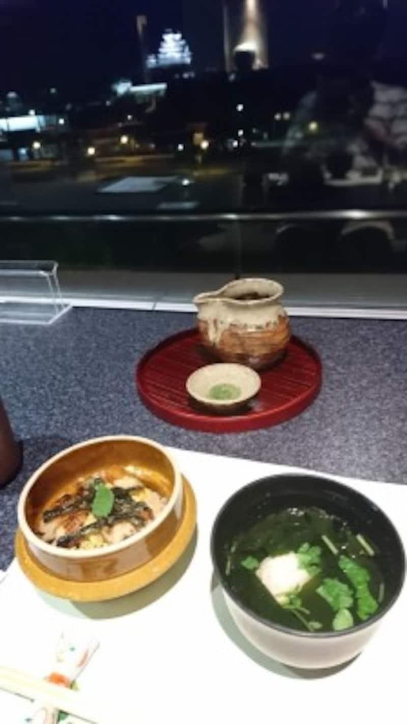 イーグレキャッスル・ミレでの食事