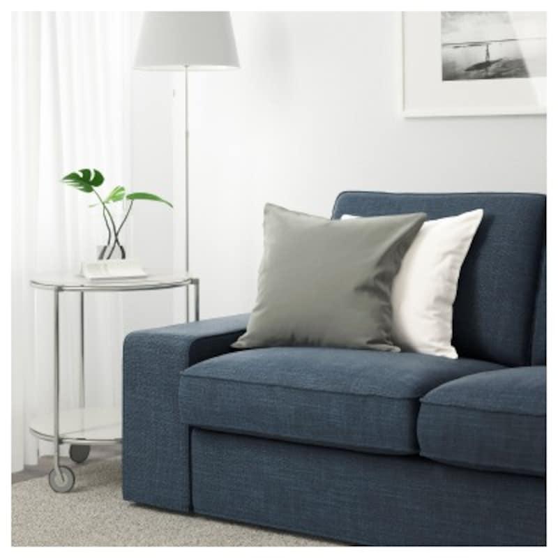 IKEAのKIVIKシーヴィク2人掛けソファ(ヒッラレドダークブルー)税込36990円(画像はIKEAオンラインストアより引用)