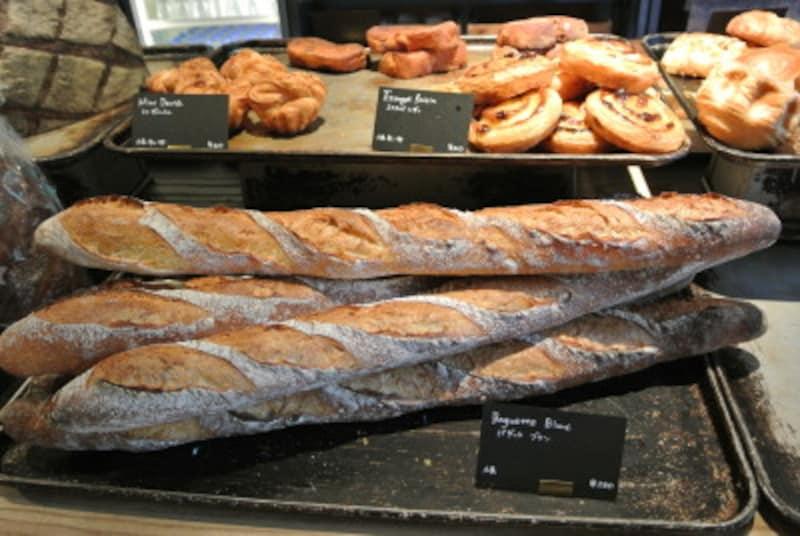 バゲットブランは国産小麦のバゲット