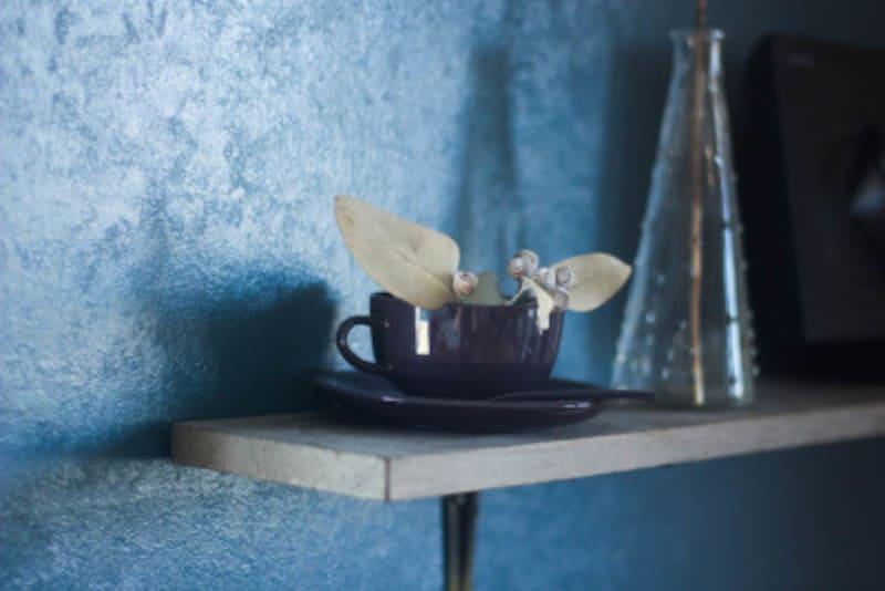 漆のコーヒーカップ