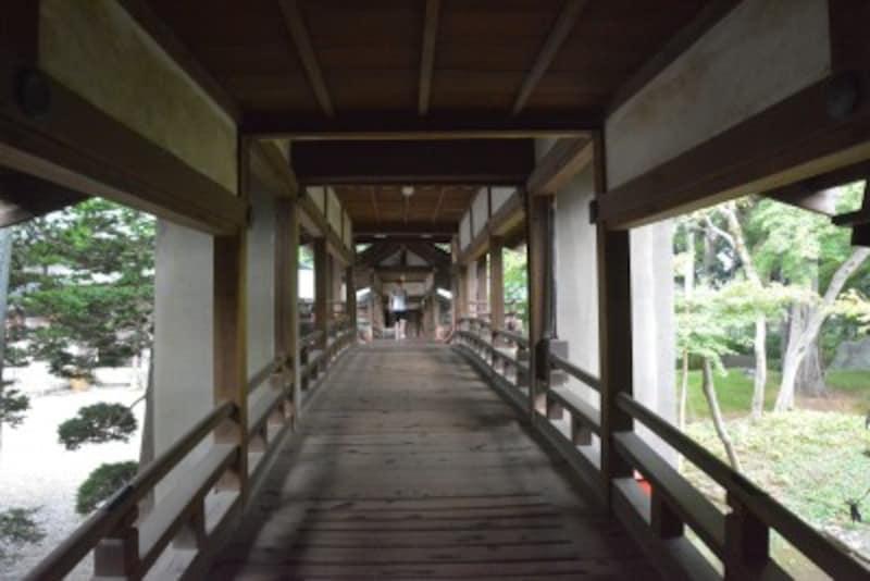 慈恵堂と客殿を繋ぐ渡り廊下