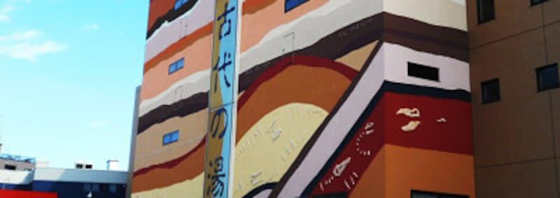 東京天然温泉古代の湯 外観