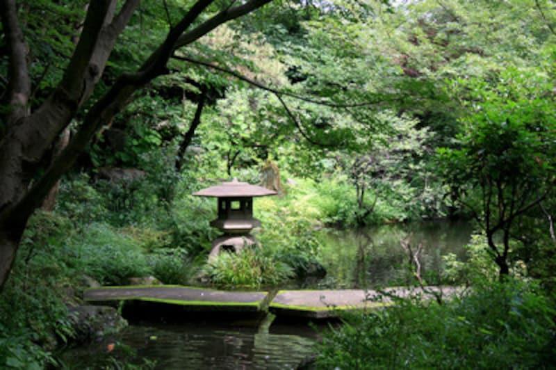 豊島園 庭の湯の庭園