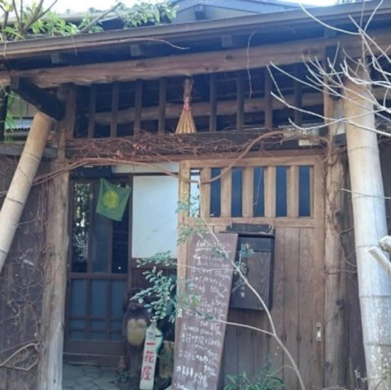 古民家を利用した手ぬぐいカフェ『一花屋』