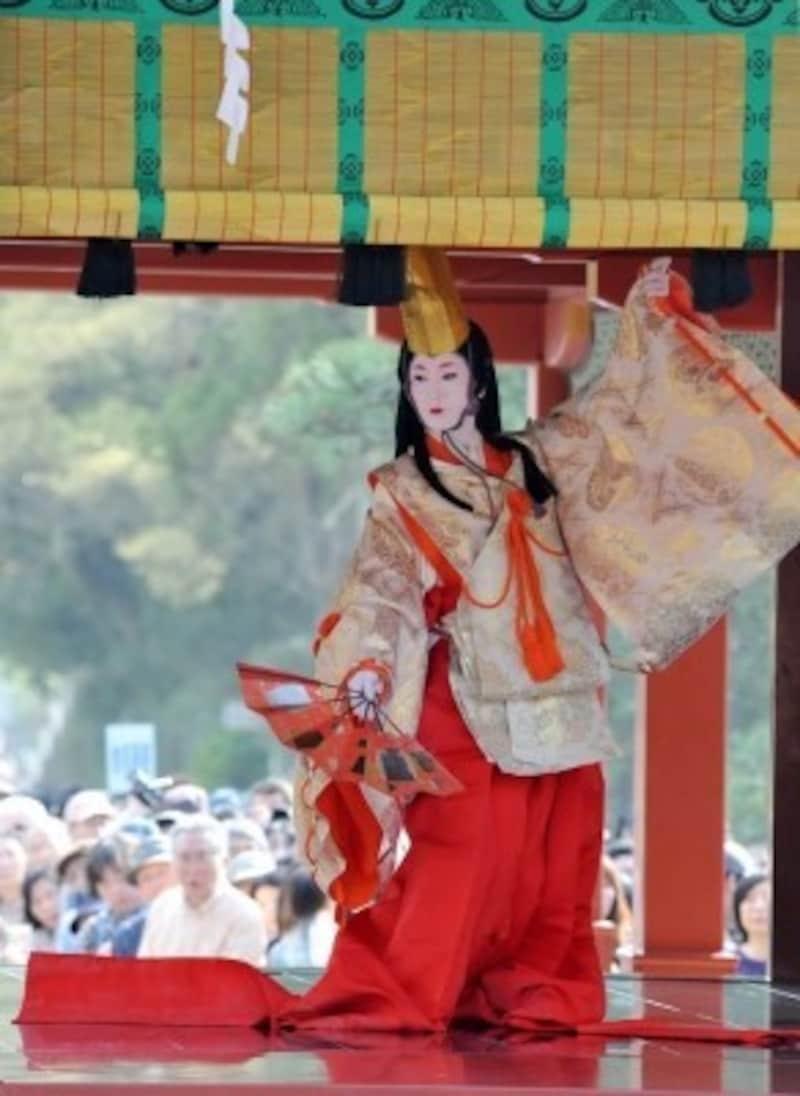 春の鎌倉まつりにて『静の舞』