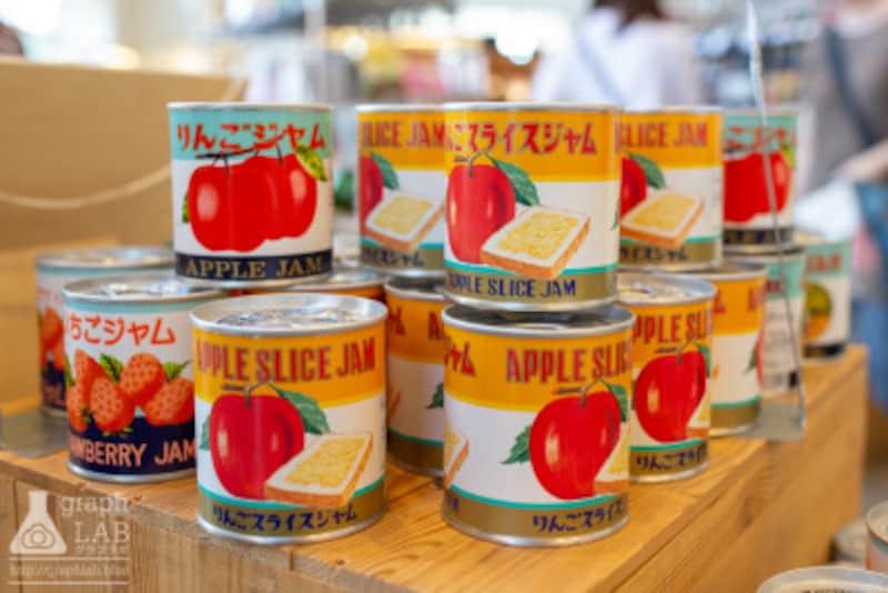 青森 お土産 おすすめ 人気 りんごスライスジャム(缶)
