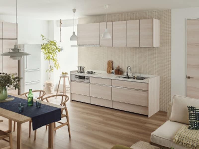 [アレスタ] オープンキッチン 壁付I型 奥行65cm 間口255cm