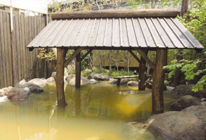 縄文天然温泉 志楽の湯 露天風呂