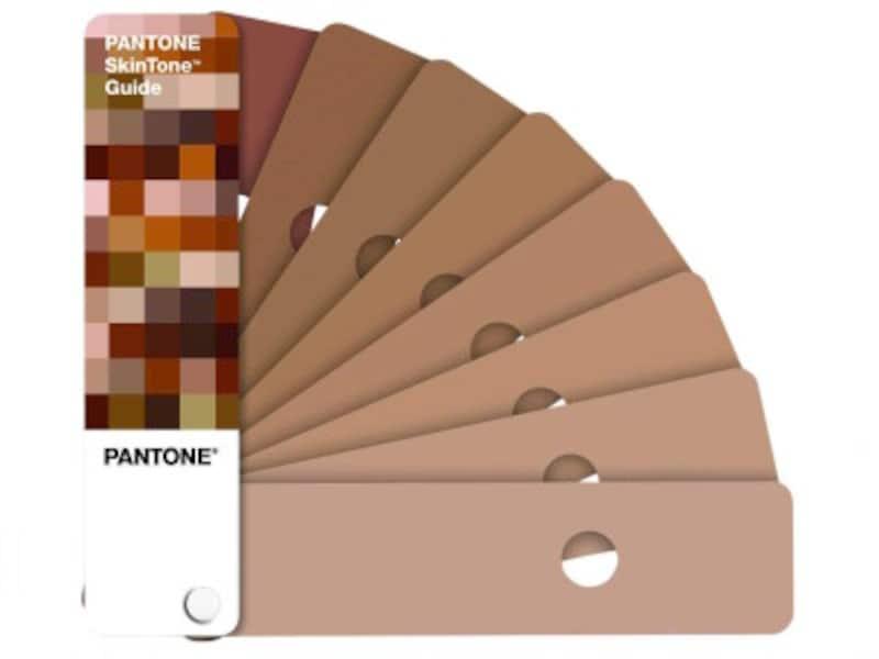 PantoneSkinToneGuide(画像はAmazonより:http://amzn.asia/d/9VXONLj)