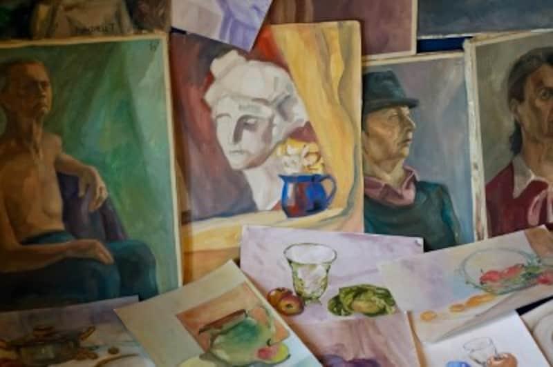 名画に描かれた肌色も、肌色を忠実に再現したというより、画家の心をとらえた色が描かれているものが多くあります