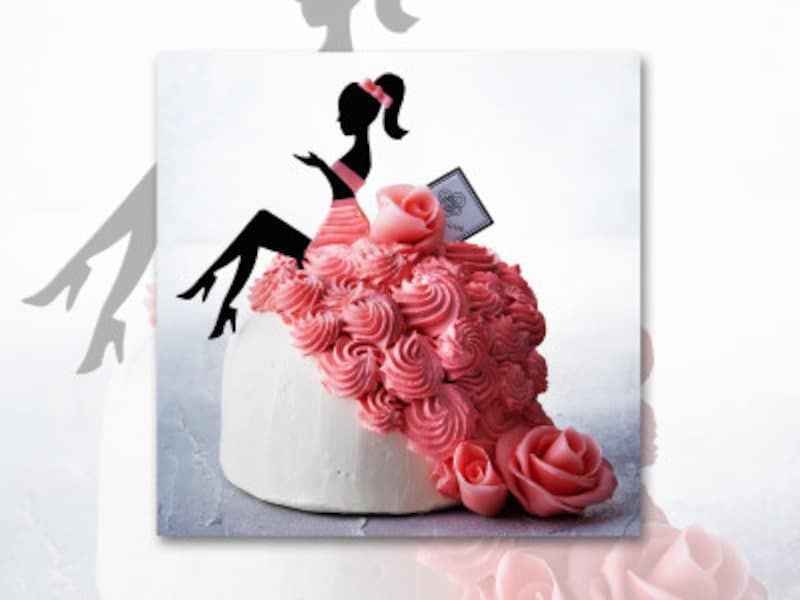「GINZAMARQUISE並木通り店」のデコレーションケーキの一例