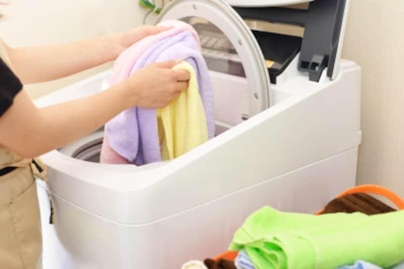 ただ洗濯機に放り込むだけでなく、基本を押さえることで、よりキレイに洗い上がります