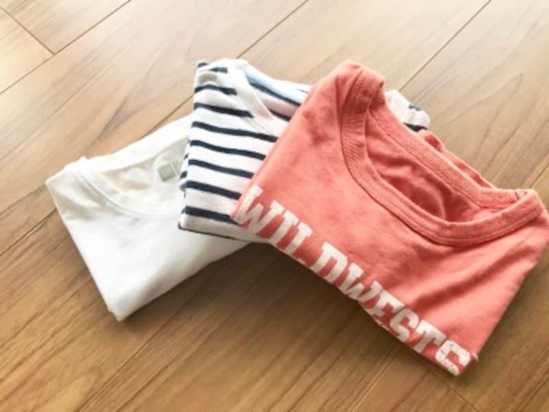 Tシャツのしわにならないたたみ方!キレイにたたむ方法