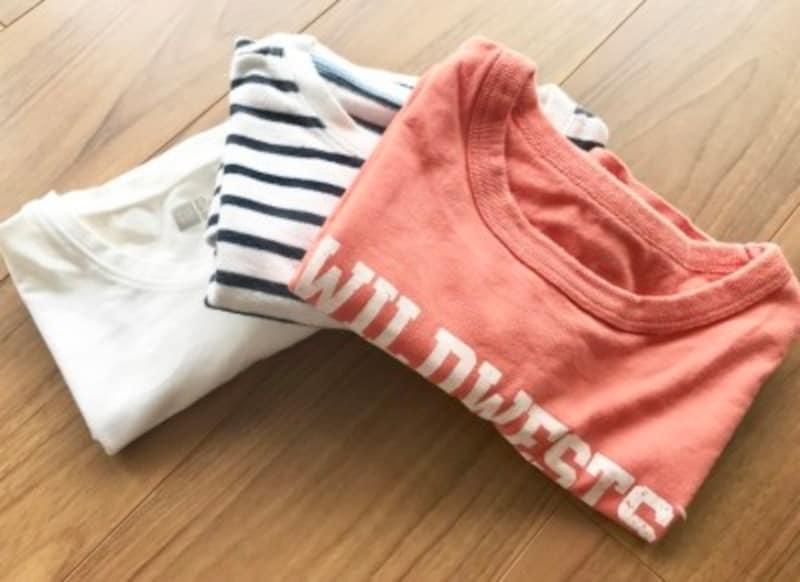 Tシャツの簡単キレイなたたみ方とは?
