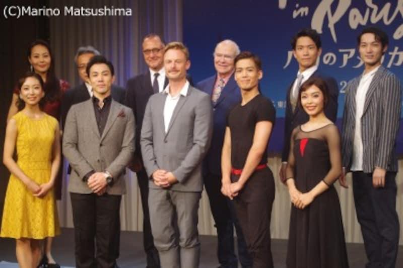 製作発表にて。(C)MarinoMatsushima