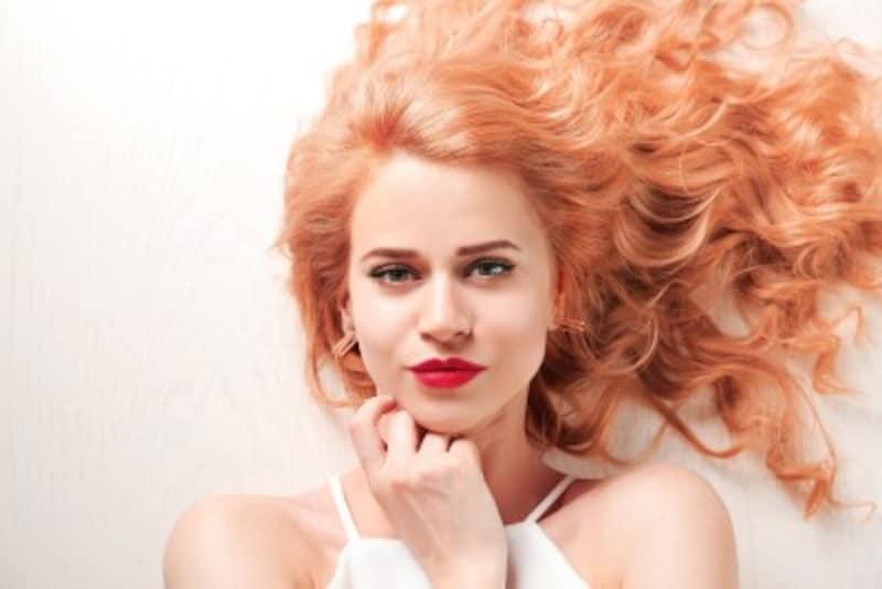 金髪の種類:ストロベリーブロンド